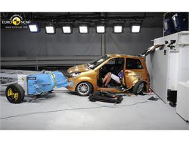 Ligier IXO JS LINE 4 places -Side crash test 2014 - after crash