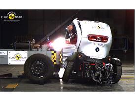 Renault Twizy 80 -Side crash test 2014 - after crash