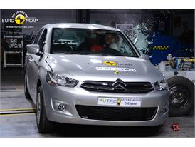 Citroën C-Elysée  - Side crash test 2014