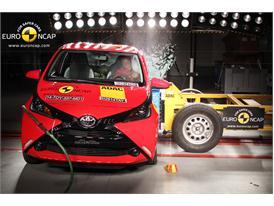 Toyota Aygo  - Side crash test 2014