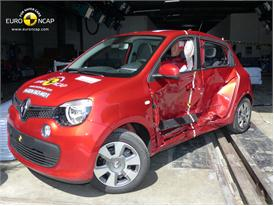 Renault Twingo  - Side crash test 2014 - After Crash