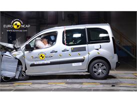 Citroën Berlingo  - Frontal crash test 2014