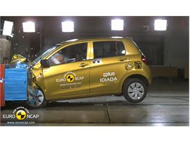 Suzuki Celerio  - Frontal crash test 2014