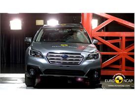 Subaru Outback - Pole crash test 2014