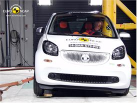 smart fortwo - Pole crash test 2014