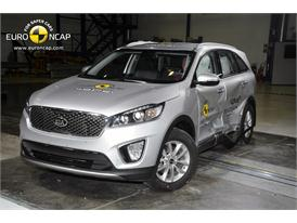 Kia Sorento  - Side crash test 2014
