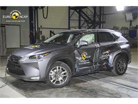 Lexus NX  - Side crash test 2014