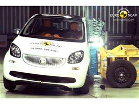 smart forfour  - Side crash test 2014