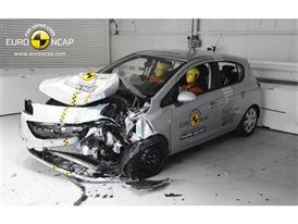 Opel/Vauxhall Corsa - Frontal crash test 2014 - after crash