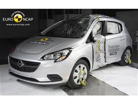 Opel/Vauxhall Corsa - Pole crash test 2014