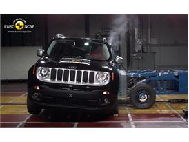Jeep Renegade  - Side crash test 2014