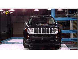 Jeep Renegade - Pole crash test 2014