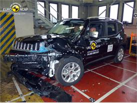 Jeep Renegade - Frontal crash test 2014 - after crash