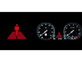 BMW Pedestrian Warning with City Brake Activation