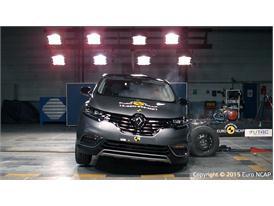 Renault Espace - Side crash test 2015
