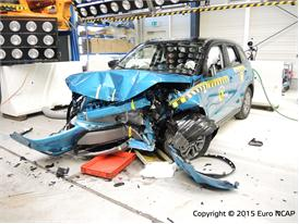 Suzuki Vitara - Frontal Offset Impact test 2015 - after crash