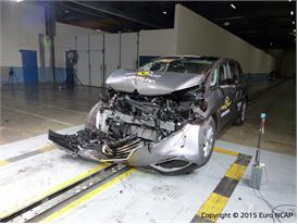 Renault Espace - Frontal Full Width test 2015 - after crash