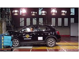 FIAT 500X  - Frontal Offset Impact test 2015