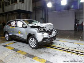Renault Kadjar - Frontal Full Width test 2015 - after crash