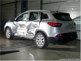 Renault Kadjar  - Side crash test 2015