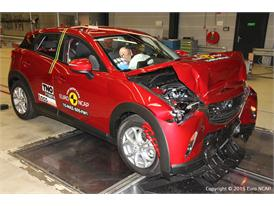 Mazda CX-3 - Frontal Full Width test 2015 - after crash