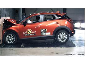 Mazda CX-3 - Frontal Full Width test 2015