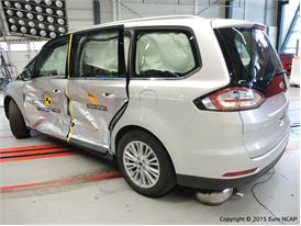 Ford Galaxy  - Side crash test 2015