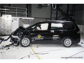 Ford Galaxy  - Frontal Offset Impact test 2015