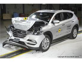 Hyundai Tucson - Frontal Full Width test 2015 - after crash