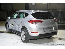 Hyundai Tucson  - Side crash test 2015