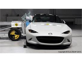 Mazda MX-5  - Side crash test 2015