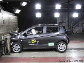Opel/Vauxhall Karl - Frontal Full Width test 2015