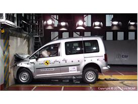 VW Caddy - Frontal Full Width test 2015