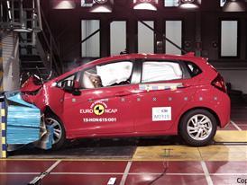 Honda Jazz - Frontal Offset Impact test 2015