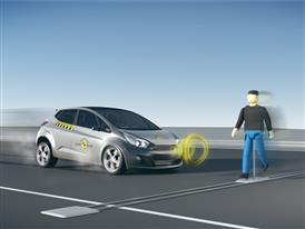AEB Pedestrian Detection Tests