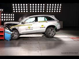 Mercedes-Benz GLC  - Frontal Offset Impact test 2015