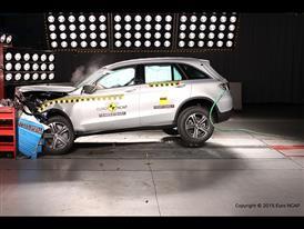 Mercedes-Benz GLC  - Frontal Offset Impact test 2015