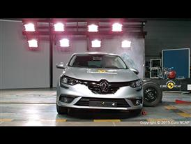 Renault Mégane - Side crash test 2015