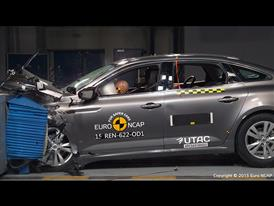 Renault Talisman  - Frontal Offset Impact test 2015
