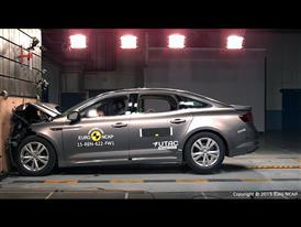 Renault Talisman - Frontal Full Width test 2015