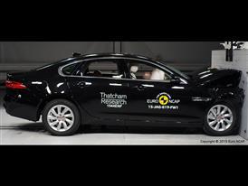 Jaguar XF - Frontal Full Width test 2015