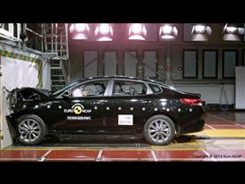 Kia Optima- Frontal Full Width test 2015