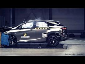 Lexus RX - Frontal Offset Impact test 2015
