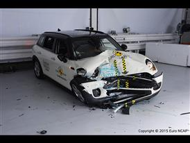 MINI Clubman-Frontal Offset Impact test 2015-after crash