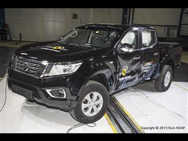 Nissan NP300 Navara - Side crash test 2015 - after crash