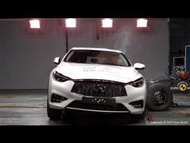 Infiniti Q30 - Side crash test 2015