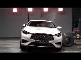 Infiniti Q30 - Side crash test 2015