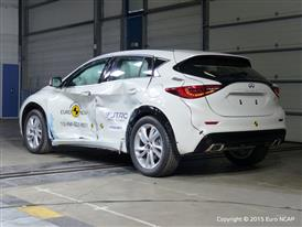 Infiniti Q30 - Side crash test 2015 - after crash