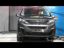 Peugeot Traveller  - Pole crash test 2015