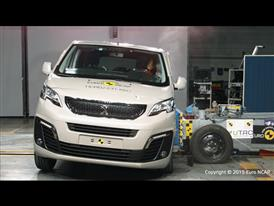 Peugeot Traveller  - Side crash test 2015